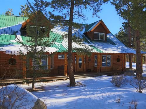 Rocky Mountain Retreat : Allenspark : Boulder County : Colorado