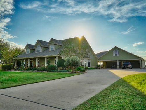 5488 Sq/Ft Home On 15 Acres : Waller : Texas