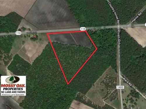 Under Contract, 14.7 Acres of Far : Grifton : Craven County : North Carolina
