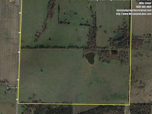 160 Acre Pasture Farm OR Great Pla : Bolivar : Polk County : Missouri