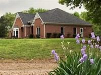 4Br / 3Ba Home On 33.29+/- Acres : Adairsville : Bartow County : Georgia