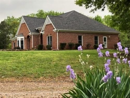 4Br / 3Ba Home On 33.29+/- Acres : Adairsville : Bartow County : Georgia