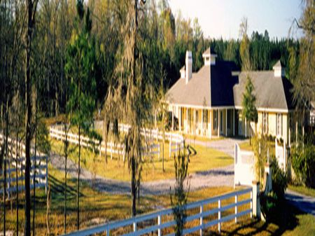 Brunson - Plantation Home/24 Acres : Brunson : Hampton County : South Carolina