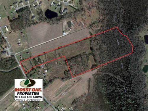 Under Contract, 21 Acres of Farm : Hertford : Perquimans County : North Carolina