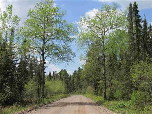713 Acres With Creeks And River : Champion : Marquette County : Michigan