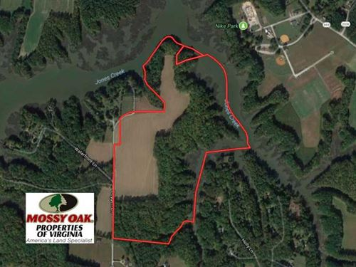 Under Contract, 98 Acres of Water : Carrolton : Isle Of Wight County : Virginia