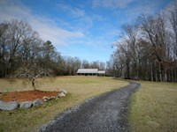 100Ac Ranch - Custom Home : Milledgeville : Baldwin County : Georgia