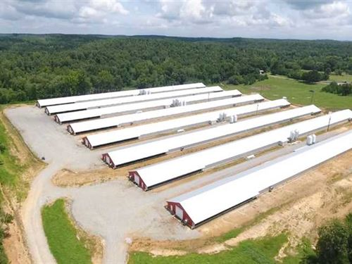 8 Omp Poultry Houses Built in 2017 : Cave City : Sharp County : Arkansas