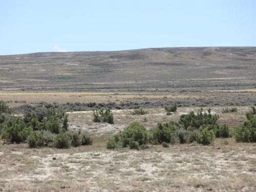 40 Acres Jawbone Ranch Land : Rawlins : Sweetwater County : Wyoming