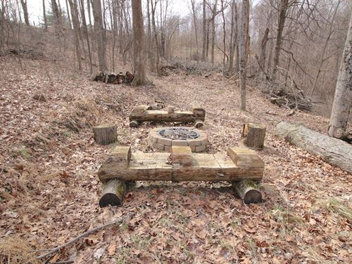 Sand Ridge Rd - 21 Acres : Guysville : Athens County : Ohio