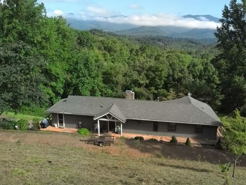 Two Homes With Spectacular Views an : Franklin : Macon County : North Carolina