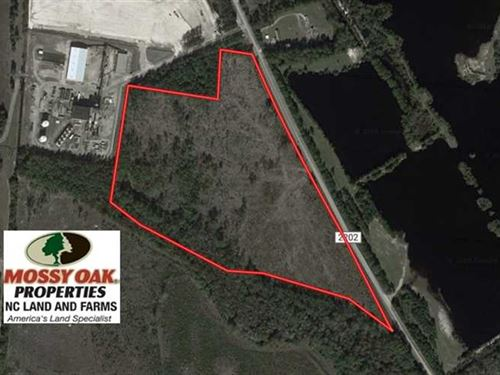 Under Contract, 34.98 Acres of Re : Lumberton : Robeson County : North Carolina