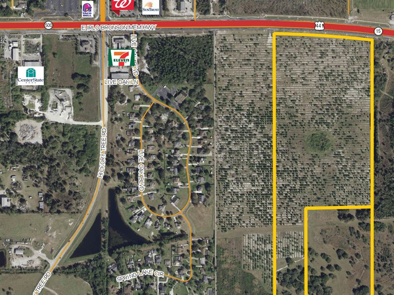 Commercial & Residential Land : Saint Cloud : Osceola County : Florida