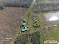 73 Acres Eola : Bunkie : La Salle Parish : Louisiana