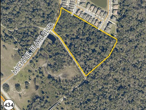 Residential Site In Winter Springs : Winter Springs : Seminole County : Florida