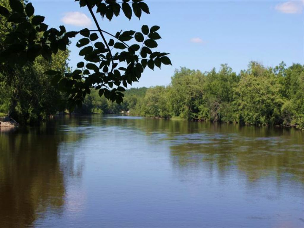 Muskegon River Frontage : Newaygo : Newaygo County : Michigan