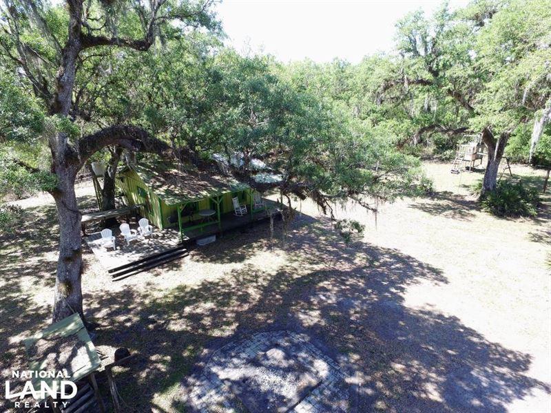Peace River Recreational Retreat : Arcadia : Desoto County : Florida