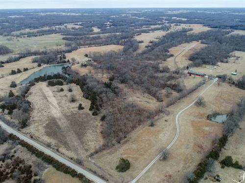 Log Home, Building Sites & Hunting : Sturgeon : Boone County : Missouri