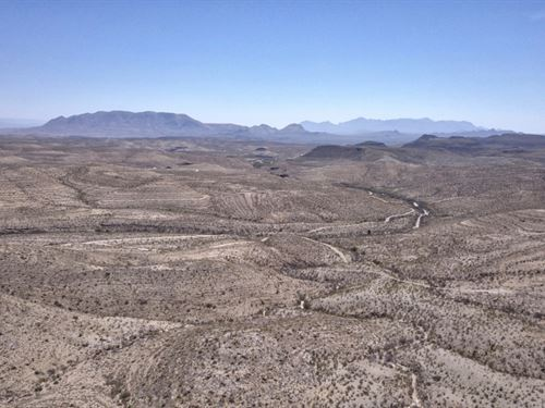 Remote And Private 20 Acre Tract : Terlingua : Brewster County : Texas