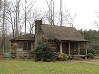 148.69 Ac W/Cabin On Whitehouse Pky : Woodbury : Meriwether County : Georgia