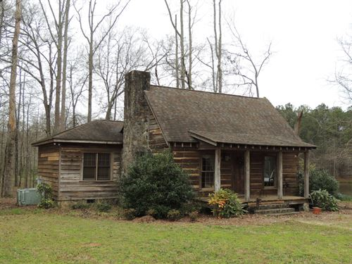 148.69 Ac W/Cabin On Whitehouse Pky : Woodbury : Meriwether County : Georgia