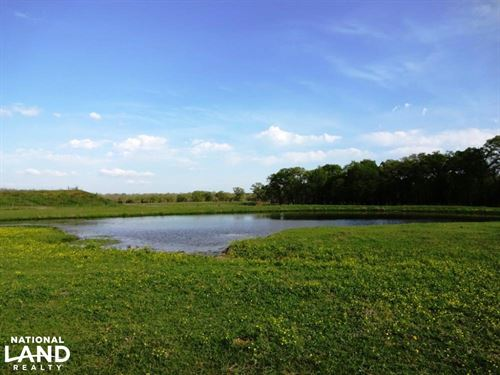 Beautiful Ranch With Pond And Impro : Normangee : Madison County : Texas