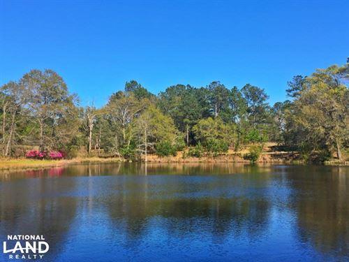Springbank Weekend Retreat : Chatom : Washington County : Alabama