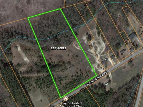 12 Plus Acres Marlboro County Sc : Bennettsville : Marlboro County : South Carolina