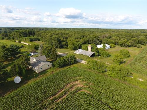 Central Wi Farm Living 168+/- Acres : Oxford : Adams County : Wisconsin