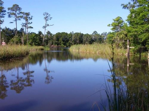 13.4 Acres On Intracoastal Fl : Wewahitchka : Gulf County : Florida