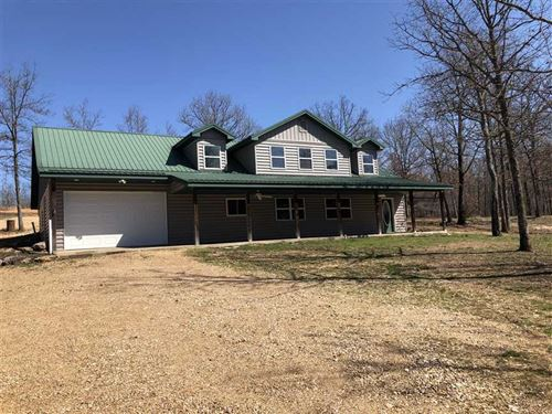 Secluded Home on 80 Acres in Camde : Montreal : Camden County : Missouri