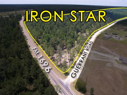 12.9 Ac Tract 7 Iron Star : Huntsville : Walker County : Texas