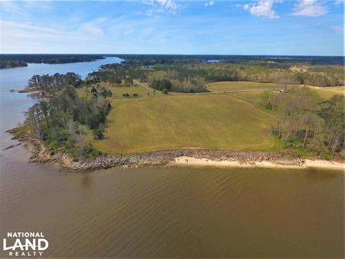Temple Waterfront Property : Havelock : Craven County : North Carolina