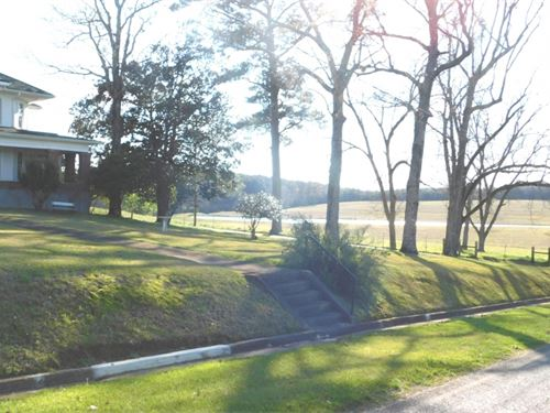 113 Acres With A Home In Lauderdale : Meridian : Lauderdale County : Mississippi