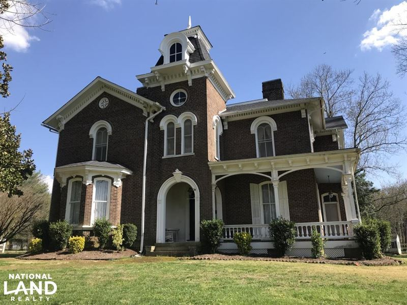 Historic cannon calloway house fa ranch for sale Calloway homes