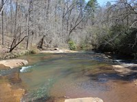 9000 Ft Of Creek Frontage : Thomaston : Upson County : Georgia