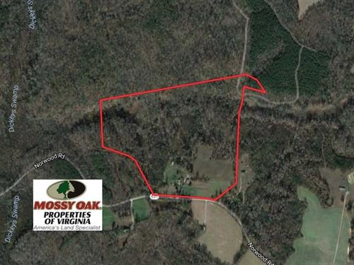 Under Contract, 50 Acres of Rural : Bruington : King And Queen County : Virginia