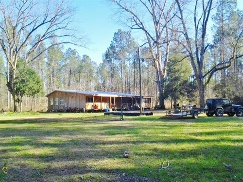 Turnkey Hunting Camp Timberland Cre : Monticello : Lawrence County : Mississippi