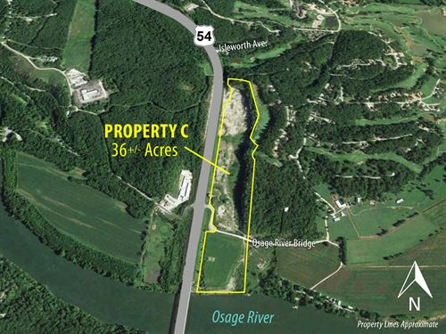 Property C Commercial Dev Land : Lake Ozark : Miller County : Missouri