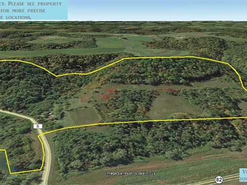 80 Acre Rec. & Farm Property : Viroqua : Vernon County : Wisconsin