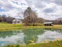 72 Acres, Creek And Home : Nunnelly : Hickman County : Tennessee