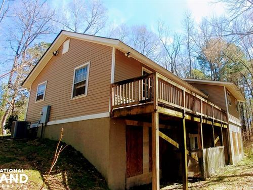 10 Acre River Front Handyman Specia : Zebulon : Wake County : North Carolina