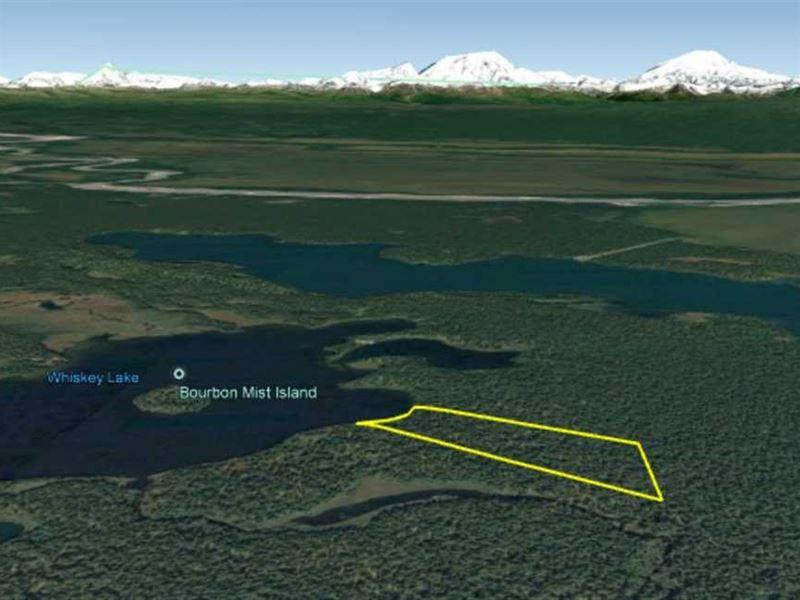 33.70 Acres on Whiskey Lake - Hunt : Skwentna : Matanuska-Susitna Borough : Alaska