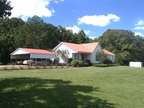 160 Acres, Home In Webster County : Mantee : Webster County : Mississippi