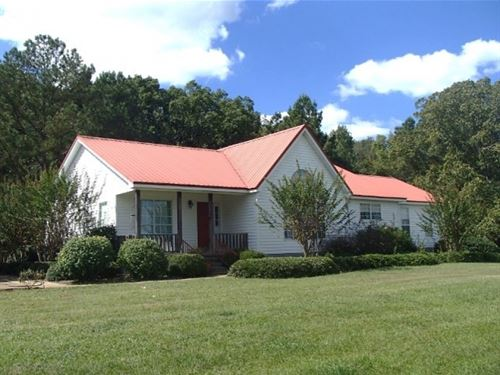 10 Acres W/Home In Webster County : Mantee : Webster County : Mississippi