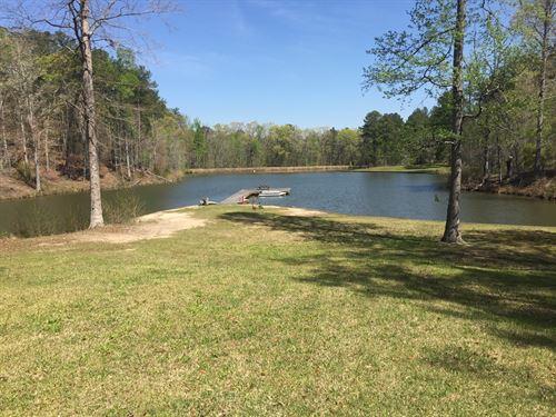 5 Acre Lake At Buckhead Point : Lincolnton : Lincoln County : Georgia