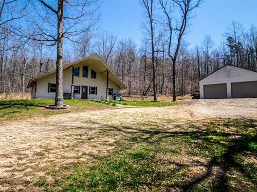 Home on 18 Acres For Sale in Riple : Doniphan : Ripley County : Missouri