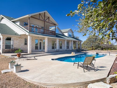 25 Ac Home, Pool In Salado, Tx : Salado : Bell County : Texas