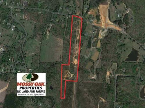 Reduced, 19.56 Acres of Residenti : Asheboro : Randolph County : North Carolina