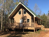 41 Acres With New Secluded Cabin : Union : Union County : South Carolina